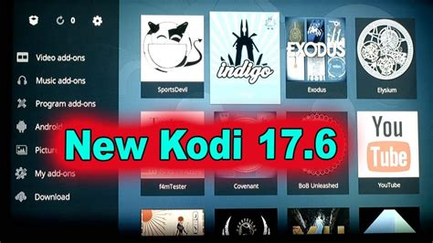 aptoide kodi 17 6 after kodi 17 6 install how to watch movies tv shows