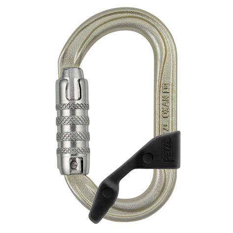 Petzl Steel Carabiner Oxan Lock 2017 petzl oxan triact lock steel h frame carabiner with captiv 2017 omniprogear
