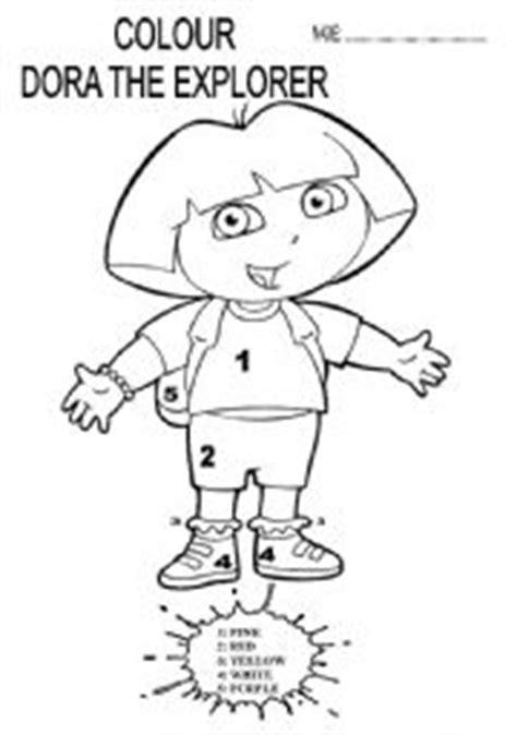 dora printable preschool activities dora preschool worksheets dora best free printable