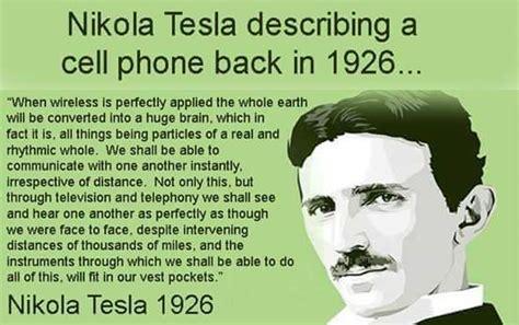 Nikola Tesla Cell Phone Nikola Tesla Described A Cell Phone Loera Reviews
