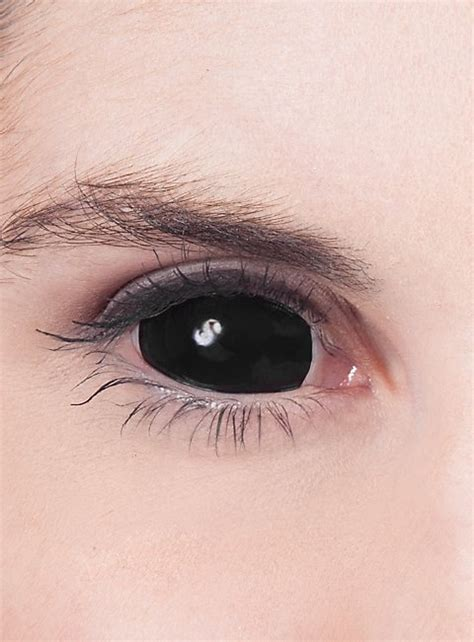 special effects color contacts black sclera contact lenses