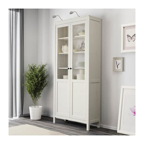white kitchen cabinet doors for sale ikea glass kitchen hemnes cabinet with panel glass door white stain 90x197 cm
