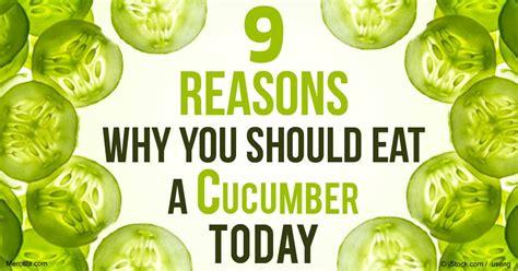 9 amazing health benefits of cucumbers