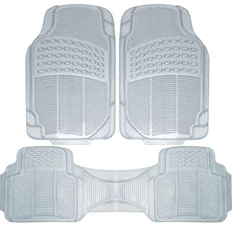 clear vinyl floor mats for cars auto floor mats for ford car truck suv 3pc set