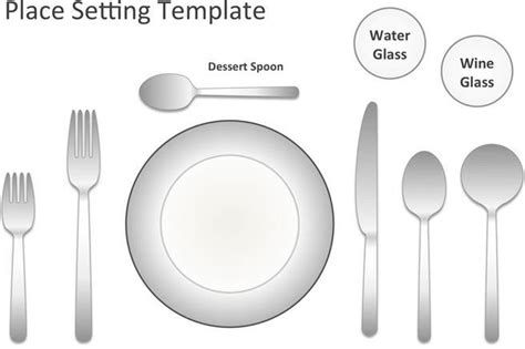 place setting template handicraft template download free premium templates