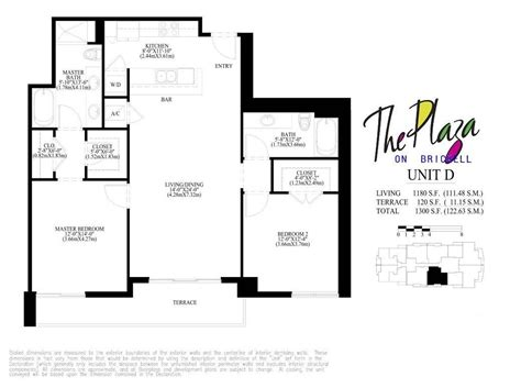 Brickell On The River South Floor Plans by 100 East Midtown Plaza Floor Plans River Place