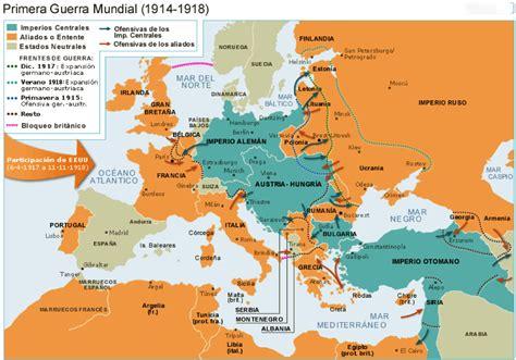 la primera guerra mundial mapa de europa antes de la segunda guerra mundial