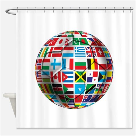 soccer curtains fifa shower curtains fifa fabric shower curtain liner