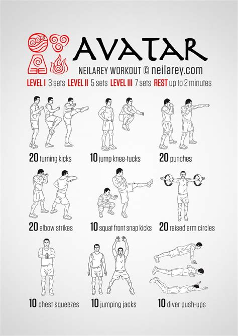 avatar workout fitness neila avatar
