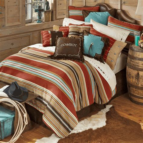 Western Bedding: King Size Calhoun Bed Set Lone Star