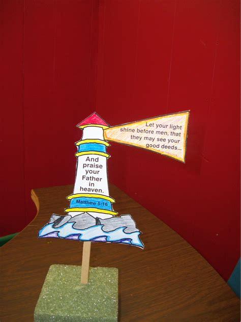 Let Your Light Shine Craft Z Cc Life Lessons Light Craft