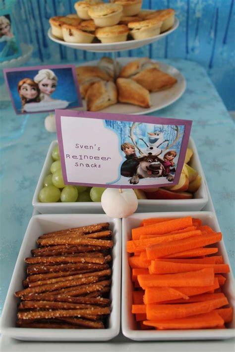 frozen themed birthday food disney frozen birthday party ideas snacks birthdays and
