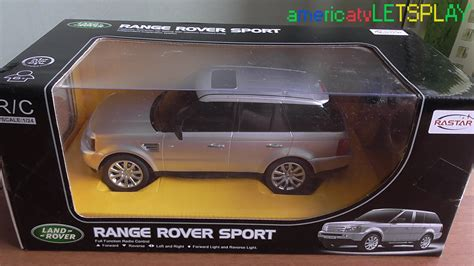 toy range rover radio control car toy range rover sport youtube