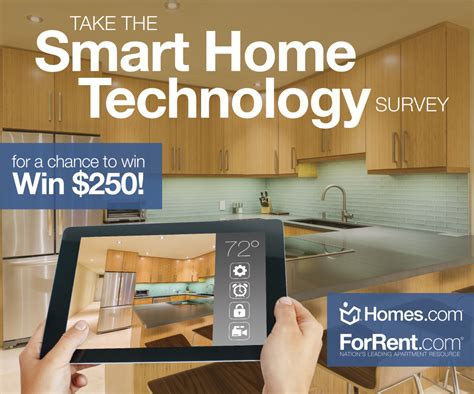 smart home technology take the smart home technology survey for a chance to