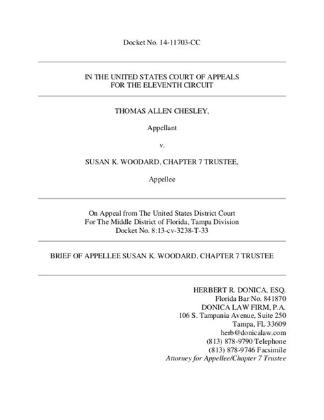 Appellate Brief Briefformat Appellate Brief