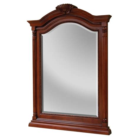 Cherry Bathroom Mirror Wingate Rich Cherry Bathroom Mirror Burroughs Hardwoods
