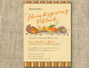 thanksgiving potluck invitation templates thanksgiving potluck invitation