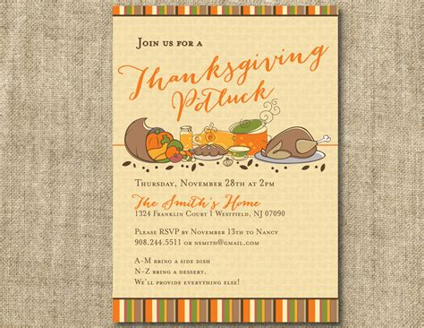 potluck menu template thanksgiving potluck flyer templates happy easter