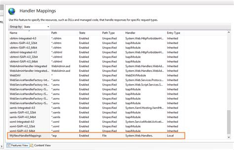 tutorial web host manager handler mappings with iis manager in websitepanel arvixe