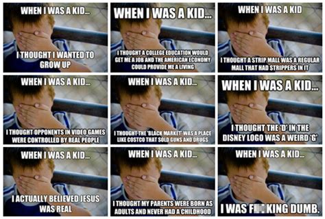 When I Was A Kid Meme - internet meme database newsfeed gallery know your meme