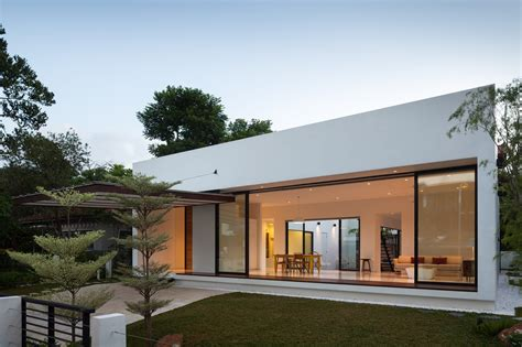 house with courtyard mandai courtyard house atelier m a archdaily