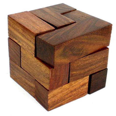 woodworking puzzle 1000 ideas about wooden cubes on wooden