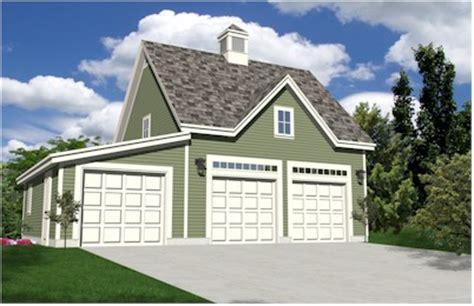 Oak Lawn Three Car Carriage House Style Garage Plans 3 Car Garage Carriage House Plans