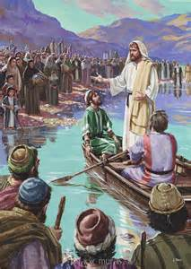 Daycare Wall Murals jesus preaching from the boat mural from magicmurals com
