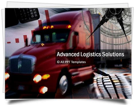 powerpoint logistics template sets powerpoint logistics template sets