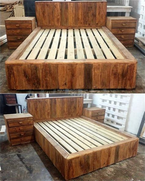 25 best ideas about pallet bedroom furniture on