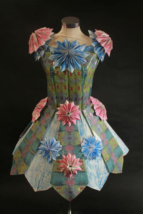 recycled dress design paper dress paper dress ideas pinterest origami
