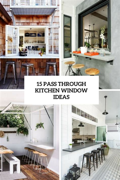 kitchen pass through ideas 15 pass through kitchen window ideas shelterness