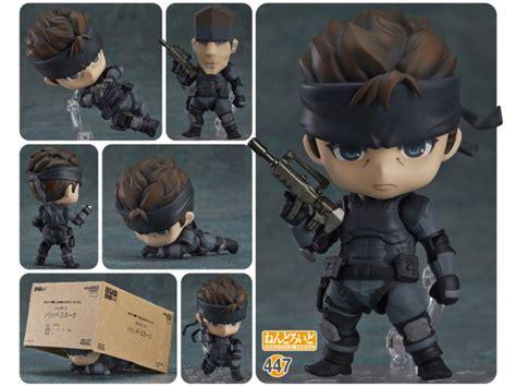 Dpk093 Nendoroid Metal Gear Soloid Solid Snake metal gear solid snake nendoroid clone this cutie technabob
