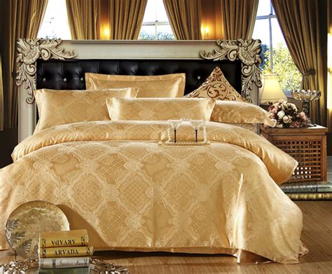 gold pattern sheet set 20 fancy golden colored bed linens home design lover