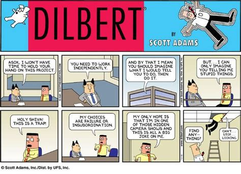 dilbert gets re accommodated books a dilbert sunday comic with quot asok quot quot dilbert quot by
