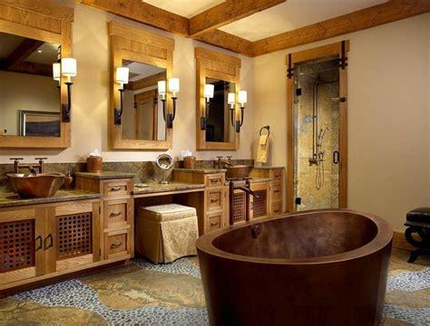 Diseño baños rusticos y creatividad   más de 50 ideas