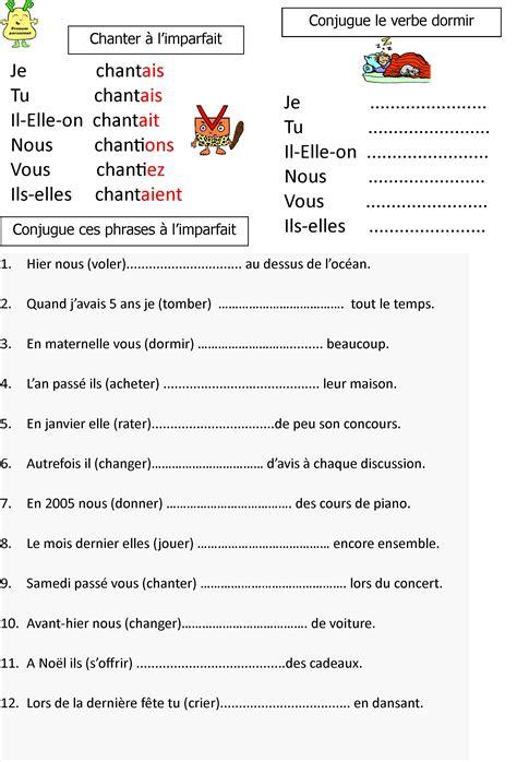 L Imparfait Le 231 On Et Exerices Pour Ce1 Ce2 Blog De