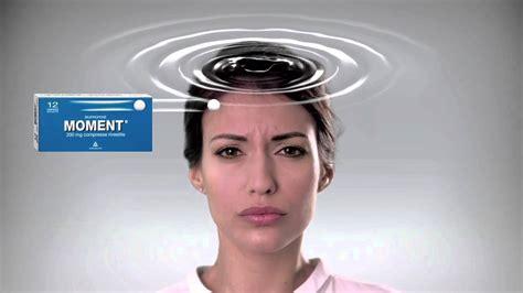 leggero mal di testa spot moment contro il mal di testa leggero