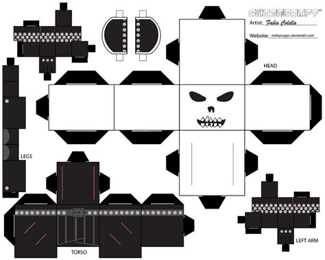 Ghost Papercraft - ghost rider cubeecraft by melopruppo on deviantart