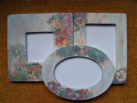 Decoupage Frames Ideas - 37 diy home decor ideas for a vintage look