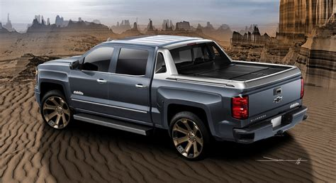 chevy truck car introducing the chevy silverado 1500 high desert sema