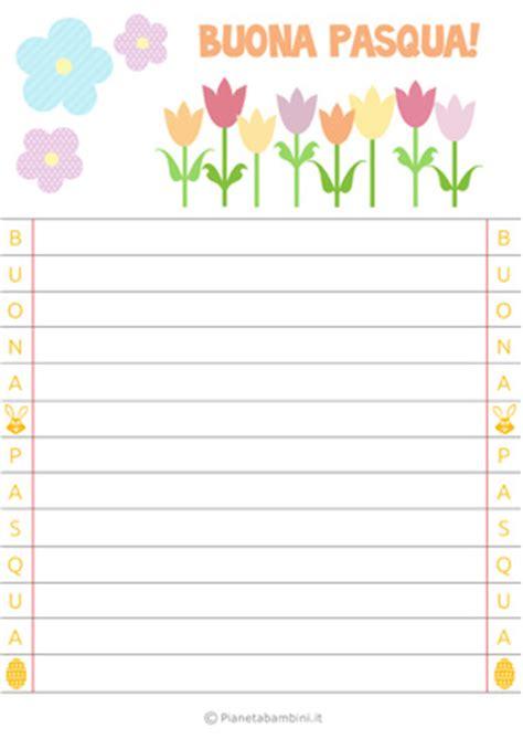lettere di pasqua per i genitori letterine di pasqua per bambini da stare gratis