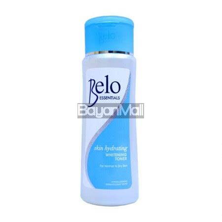 lightening hydrating toner whitening hydrating series belo essentials skin hydrating whitening toner 60ml