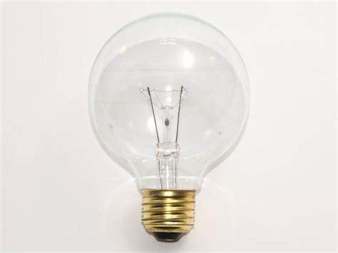 130v 40w light bulb bulbrite 40w 130v g25 clear globe bulb e26 base