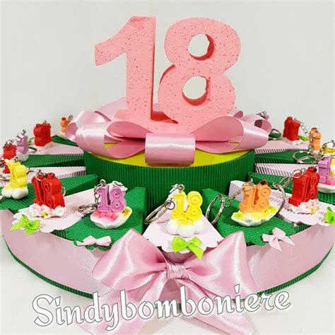 fiori per i 18 anni torta bomboniera per 18 anni portachiavi fiore