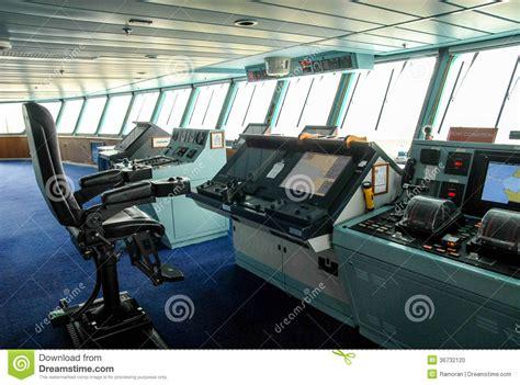 layout boat chair ship bridge stock photo image of marine control