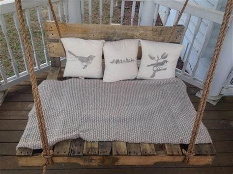 pallet swing bed diy pallet swing bed pallet furniture diy
