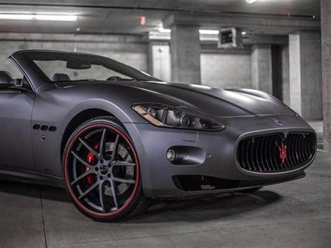 Maserati Rims by Lightweight Rims For Maserati Granturismo Giovanna