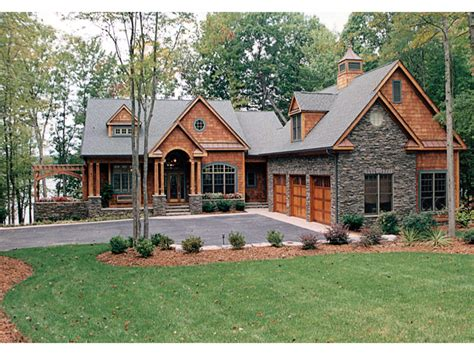 House Plans Craftsman | craftsman house plans lake homes view plans lake house
