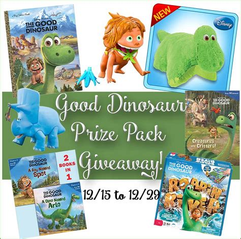 Good Giveaways - the good dinosaur prize pack giveaway the joys of boys